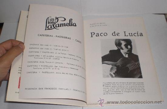 Folletos de turismo: Festivales de España en Cadiz - 1974 - Foto 4 - 38225613