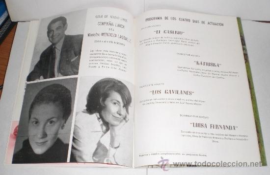 Folletos de turismo: Festivales de Arte Español - Cadiz 1964 - Foto 5 - 38225857