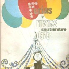 Folletos de turismo: REVISTA FERIAS Y FIESTAS ARANJUEZ, MADRID. 1979. 100 PÁGINAS.. Lote 38225967