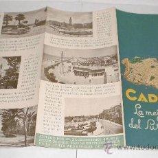 Folletos de turismo: CADIZ - LA MEJOR PLAYA DEL SUR (TRIPTICO). Lote 38225999