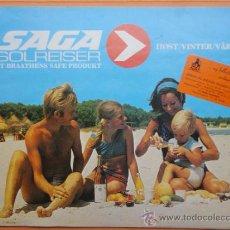 Folletos de turismo: SAGA. SOLREISER. GRAN CANARIA. LANZAROTE. TENERIFE. MALLORCA. 1979. TURISMO. Lote 38640533