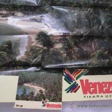 Folletos de turismo: EXPO 92 FOLLETO DE VENEZUELA TIERRA DE GRACIA. Lote 38877203