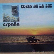 Folletos de turismo: PUBLICACION MINISTERIO DE INFORMACION Y TURISMO 1974 COSTA DE LA LUZ. Lote 39032233