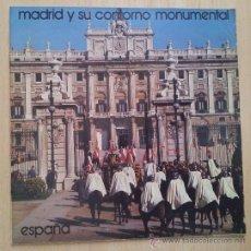 Folletos de turismo: PUBLICACION MINISTERIO DE INFORMACION Y TURISMO 1974 MADRID Y SU CONTORNO MONUMENTAL. Lote 139438697