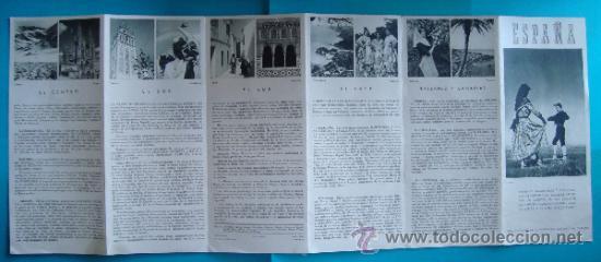 Folletos de turismo: LOTE DE 13 PUBLICACIONES LUGARES DE ESPAÑA AÑOS 50, DIRECCION GENERAL DE TURISMO - Foto 26 - 39042739