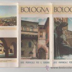 Folletos de turismo: FOLLETO DE TURISMO TURISTICO VIAJE ITALIA BOLOGNA BOLOÑA AÑOS 60. Lote 39079940