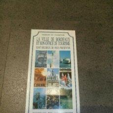 Folletos de turismo: PLANO DE LA CIUDAD DE BURDEOS (BORDEAUX) (2002). Lote 39269846