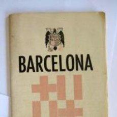 Folletos de turismo: PLANO GUÍA BARCELONA. JUNTA PROVINCIAL DEL TURISMO. . Lote 39635187