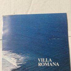 Folletos de turismo: ANTIGUA PUBLICIDAD VILLA ROMANA ALTAFULLA TARRAGONA AÑO 1976 . Lote 39617735
