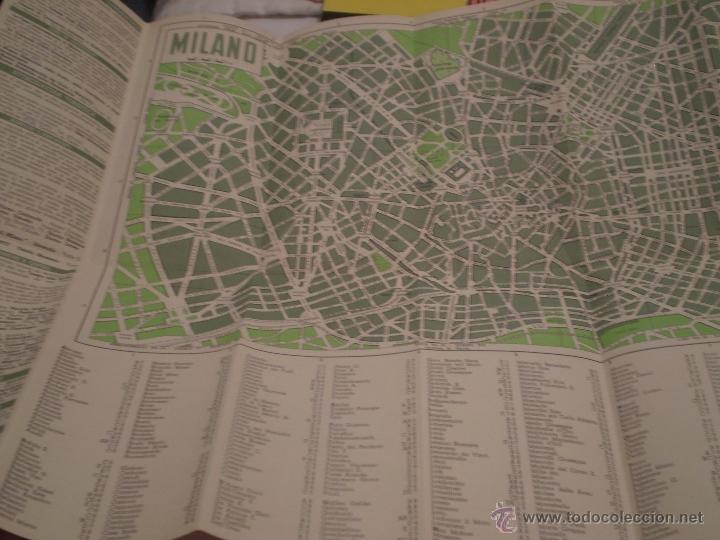 antiguo folleto turistico,milano,milan,en itali - Buy Old