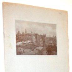 Folletos de turismo: BARCELONA 1927 NEW YORK / FOTOGRAFIAS. Lote 40142512