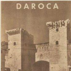 Folletos de turismo: DAROCA. AÑO JUBILAR EUCARÍSTICO. 1958. CON MAPA EN CONTRAPORTADA.. Lote 40157209