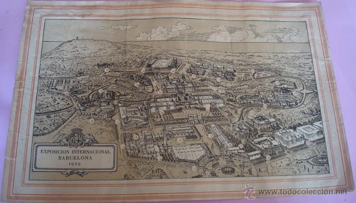 Folletos de turismo: FOLLETO DESPLEGABLE DE INTERNATIONAL EXHIBITION BARCELONA 1929 - Foto 2 - 40262819