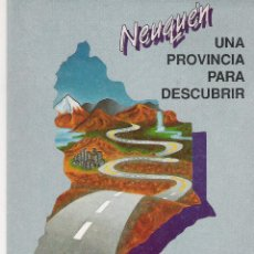 Folletos de turismo: NEUQUÉN - RED VIAL - MAPA DESPLEGABLE. Lote 40311432