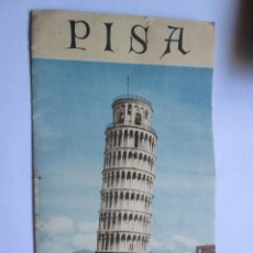 Folletos de turismo: PISA ENTE PROVINCIALE TURISMO FOLLETO GUIDE. Lote 40549858