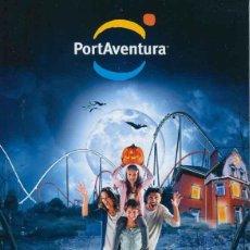 Folletos de turismo: FOLLETO HALLOWEEN NAVIDAD 2013 DEL PARQUE TEMATICO PORT AVENTURA. Lote 40830532