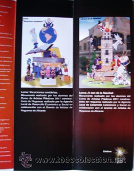 Folletos de turismo: Programa Fogueres en Nadal 2011 Alicante Hogueras-ver foto adicional - Foto 2 - 40920937