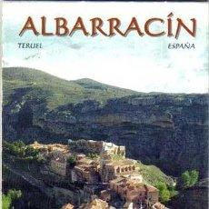 Folletos de turismo: TURISMO ESPAÑA ALBARRACÍN TERUEL ARAGON. Lote 40955220