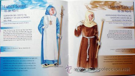 Folletos de turismo: Ser Cofrade Semana Santa Alicante 2011-50 paginas -14x13 cm-ver foto adicional - Foto 2 - 40962025
