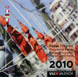 PROGRAMA FALLAS VALENCIA 2010-15X15 CM 28 PAGINAS-VER FOTO ADICIONAL (Coleccionismo - Folletos de Turismo)