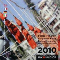 Folletos de turismo: PROGRAMA FALLAS VALENCIA 2010-15X15 CM 28 PAGINAS-VER FOTO ADICIONAL. Lote 40962144