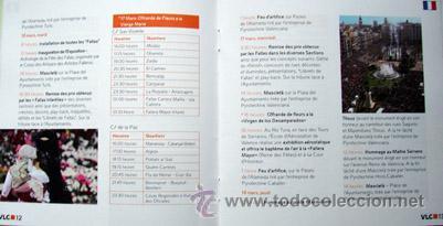 Folletos de turismo: Programa Fallas Valencia 2010-15x15 cm 28 paginas-ver foto adicional - Foto 2 - 40962144