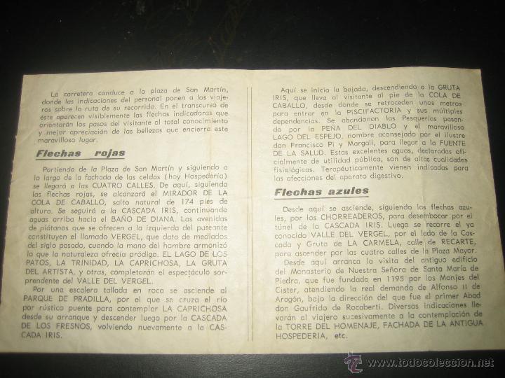 Folletos de turismo: MONASTERIO DE PIEDRA.. GUIA DEL VISITANTE - Foto 2 - 41085183