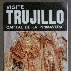 Folhetos de turismo: FOLLETO TURÍSTICO: VISITE TRUJILLO, CAPITAL DE LA PRIMAVERA. CORPORACIÓN TURISMO DE PERÚ. AÑOS 70. Lote 41353300