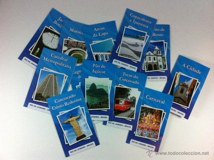 coleccion de 12 mini folletos de rio de janeiro - Comprar Folletos ...