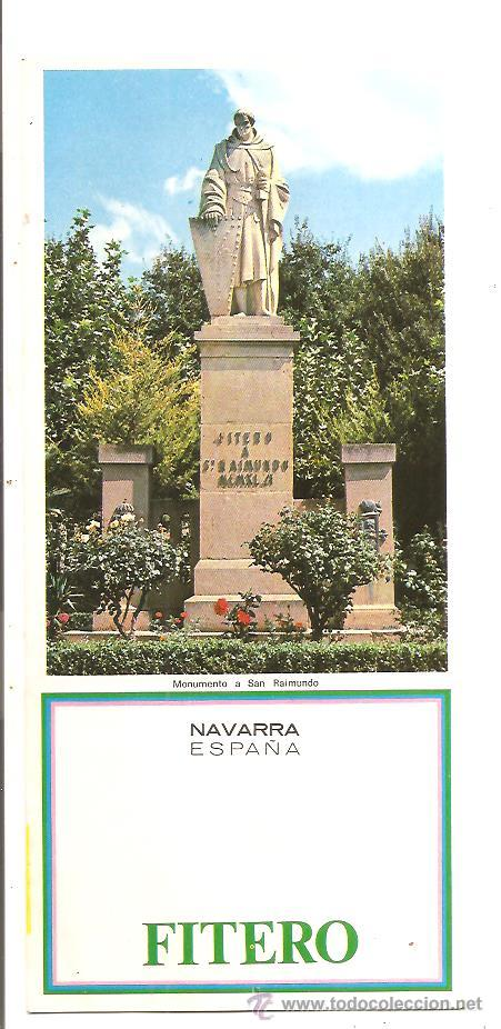 NAVARRA – FITERO (Coleccionismo - Folletos de Turismo)