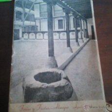 Folletos de turismo: PROGRAMA FERIAS Y FIESTAS DE ALMAGRO CIUDAD REAL , 1954. Lote 42156032