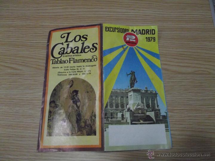 Folletos de turismo: EXCURSIONES MADRID 1979 PULLMANTUR - Foto 2 - 42243339