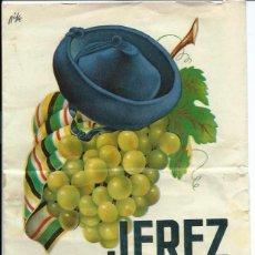 Folletos de turismo: JEREZ. III FIESTA DE LA VENDIMIA Y FERIA 1950. Lote 42383817