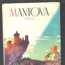 Folletos de turismo: 1 FOLLETO DE VIAJES. ** MANTOVA - ITALIA ** AÑO 196? - ITALIANO - COLOR. Lote 42695884