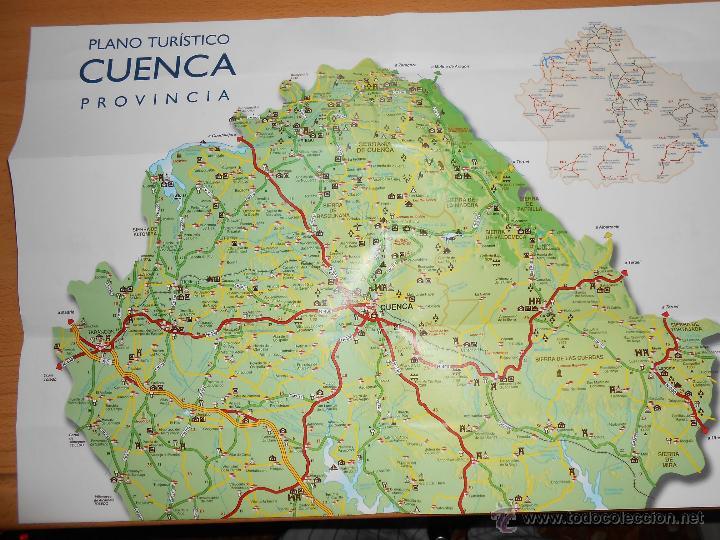 Plano Turistico Cuenca Plano Ciudad Y Provinci Sold At Auction