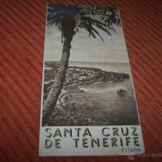 Folletos de turismo: FOLLETO DE TURISMO DE SANTA CRUZ DE TENERIFE. Lote 43223185
