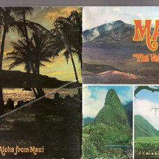 Folletos de turismo: MAUI . *THE VALLEY ISLE*. A GUIDE TO THE ISLAND MAUI IN FULL COLOR. MIKE ROBERTS COLOR PRODUCTIONS. . Lote 43252060