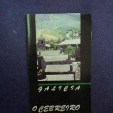 Folletos de turismo: O CEBREIRO - LUGO - GALICIA . Lote 43275163