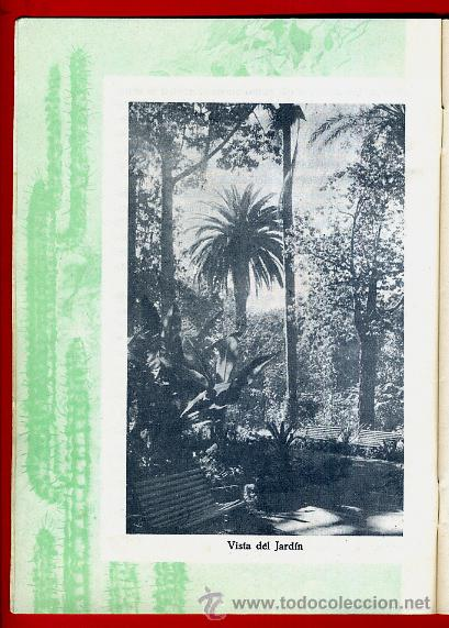 Folletos de turismo: FOLLETO JARDIN DE ACLIMATACION DE LA OROTAVA , TENERIFE ,CANARIAS ,ORIGINAL ,BO - Foto 2 - 43584833