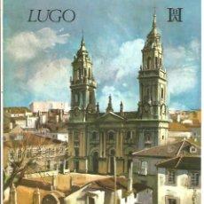 Folletos de turismo: GALICIA – LUGO - BANCO HISPANO AMERICANO. Lote 44043285