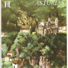 Folletos de turismo: ASTURIAS - BANCO HISPANO AMERICANO. Lote 44043382