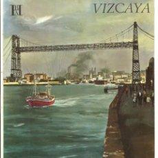 Folletos de turismo: EUSKADI - VIZCAYA - BANCO HISPANO AMERICANO. Lote 44043429