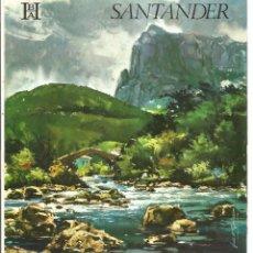 Folletos de turismo: CANTABRIA – SANTANDER - BANCO HISPANO AMERICANO. Lote 44043459