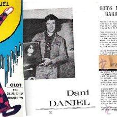 Folletos de turismo: PROGRAMA .FESTES BARRIADA SANT MIQUEL - OLOT 1976. Lote 44244188