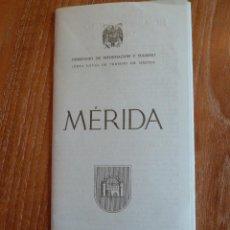 Folletos de turismo: F 2625 FOLLETO DE MEDINA MONUMENTOS Y LUGARES DE INTERES MARZO 1957. Lote 44246264