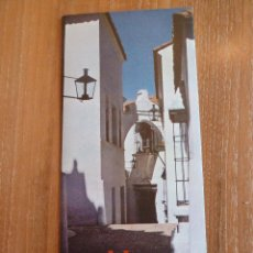 Folletos de turismo: ANTIGUO FOLLETO TURÍSTICO DE BARCELONA. PUEBLO ESPAÑOL. AÑO 1959. Lote 44246362