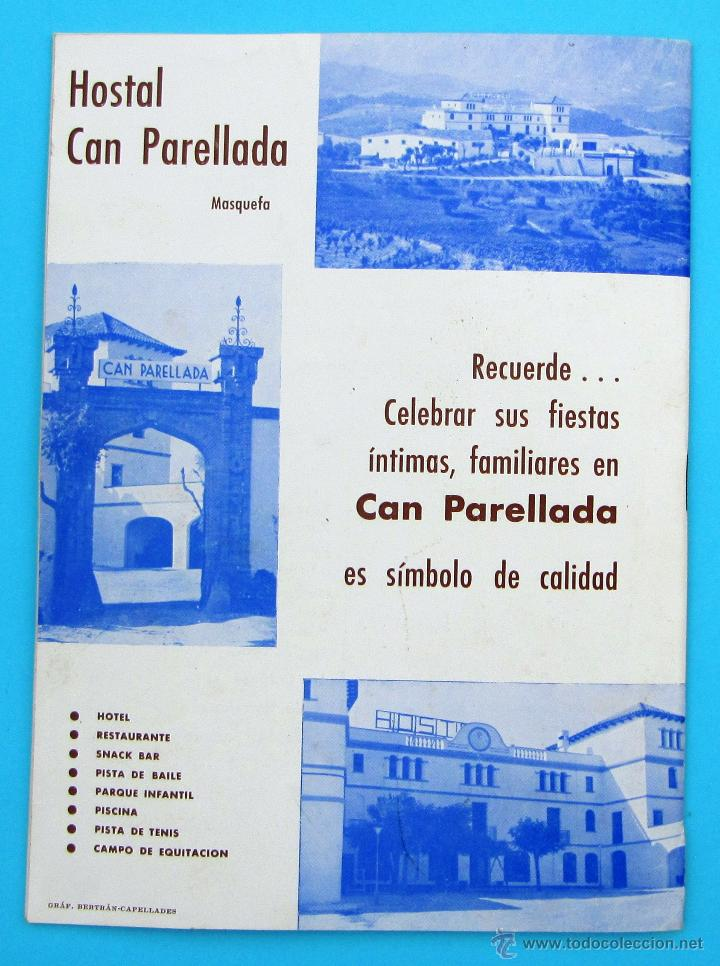 Folletos de turismo: PROGRAMA DE LA FIESTA MAYOR DE PIERA. 8, 9 Y 10 DE SEPTIEMBRE DE 1965. - Foto 5 - 44854452