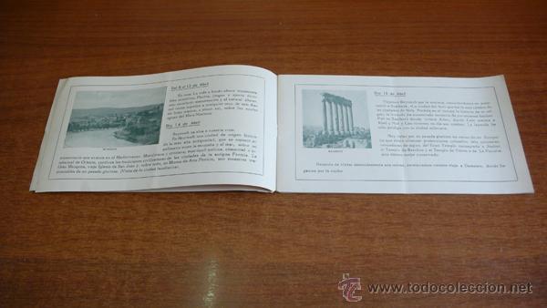 Folletos de turismo: SEMANA SANTA EN TIERRA SANTA. 1935. SIRIA, PALESTINA, EGIPTO... 29 DIAS DE VIAJE... - Foto 2 - 44881452