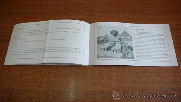 Folletos de turismo: SEMANA SANTA EN TIERRA SANTA. 1935. SIRIA, PALESTINA, EGIPTO... 29 DIAS DE VIAJE... - Foto 3 - 44881452