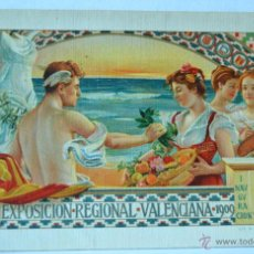 Folletos de turismo: FOLLETO - ATENEO MERCANTIL EXPOSICION REGIONAL VALENCIANA 1909. Lote 45111939